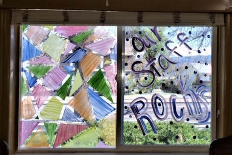 Our Staff Rocks window