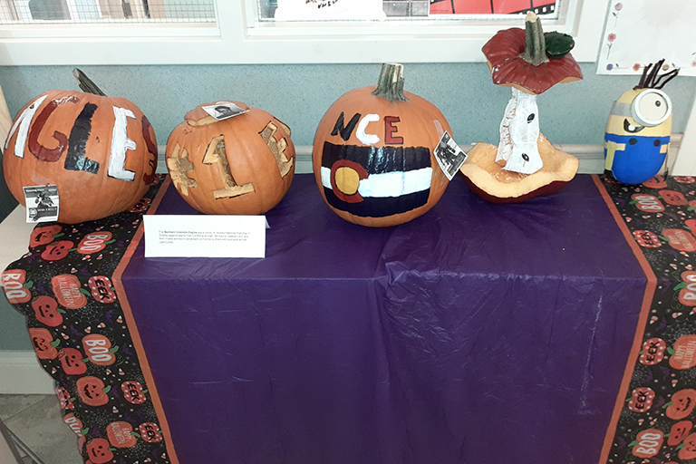 Pumpkins at Life Care Center of Greeley