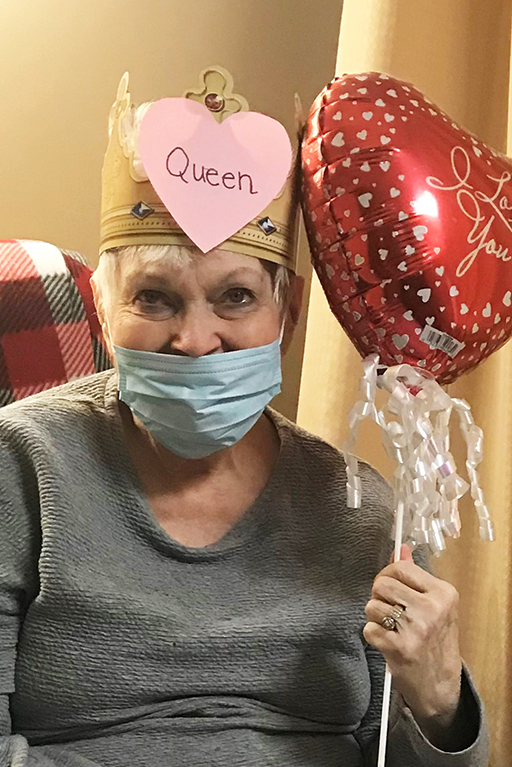 Mary Sheets, Hixson Valentine's Day Queen