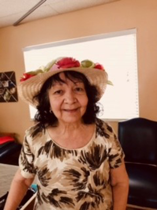 Life Care Center of Plano resident Dolores Collier