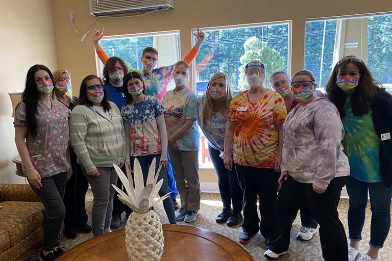 Tie-dye Day at Port Orchard