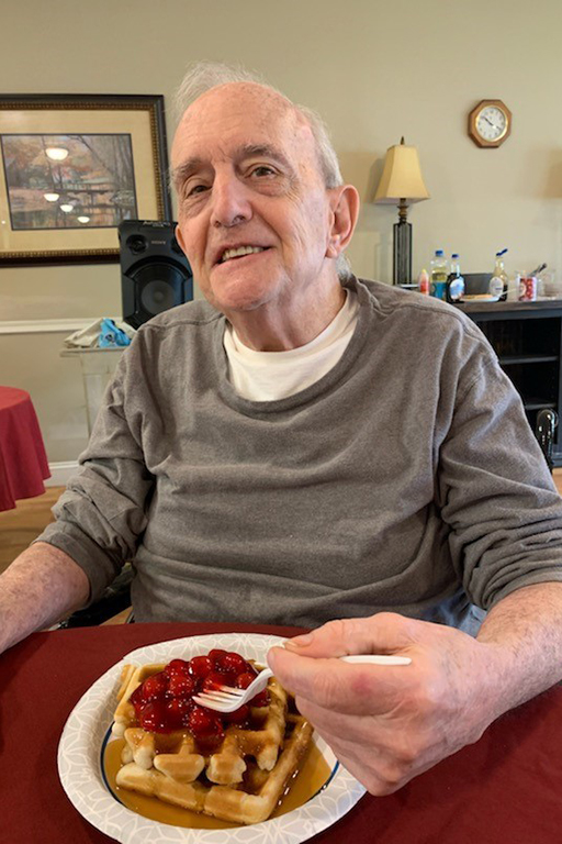 Resident Terry Cudney at Life Care Center of Rochester