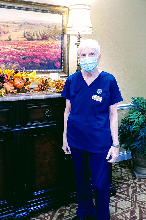 Regina Benson, restorative CNA at LCC Orlando